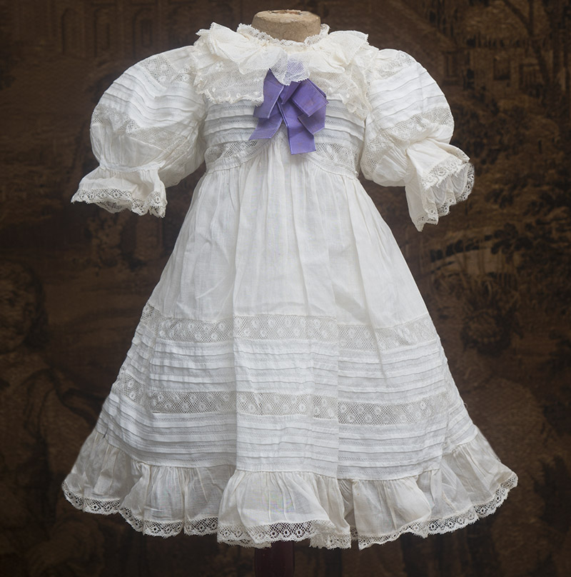 Antique Original White Dress