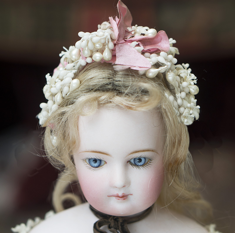 French Doll Crown Headdress