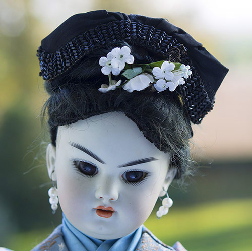 German Asian Character doll