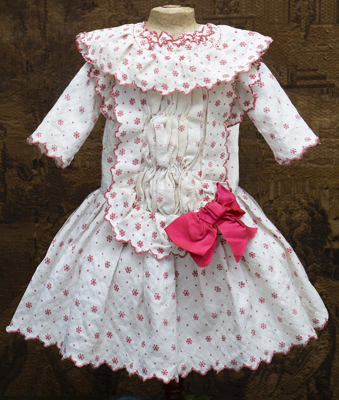 Оригинальное Платье для куклы  bebe 63-66см