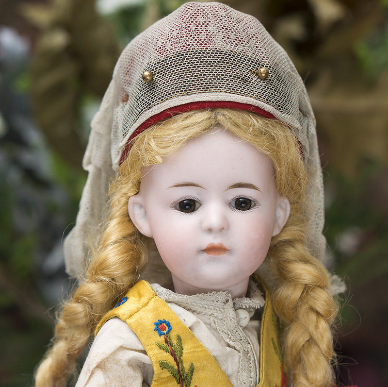 Antique all original German doll