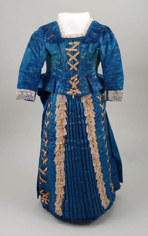 Antique blue dress