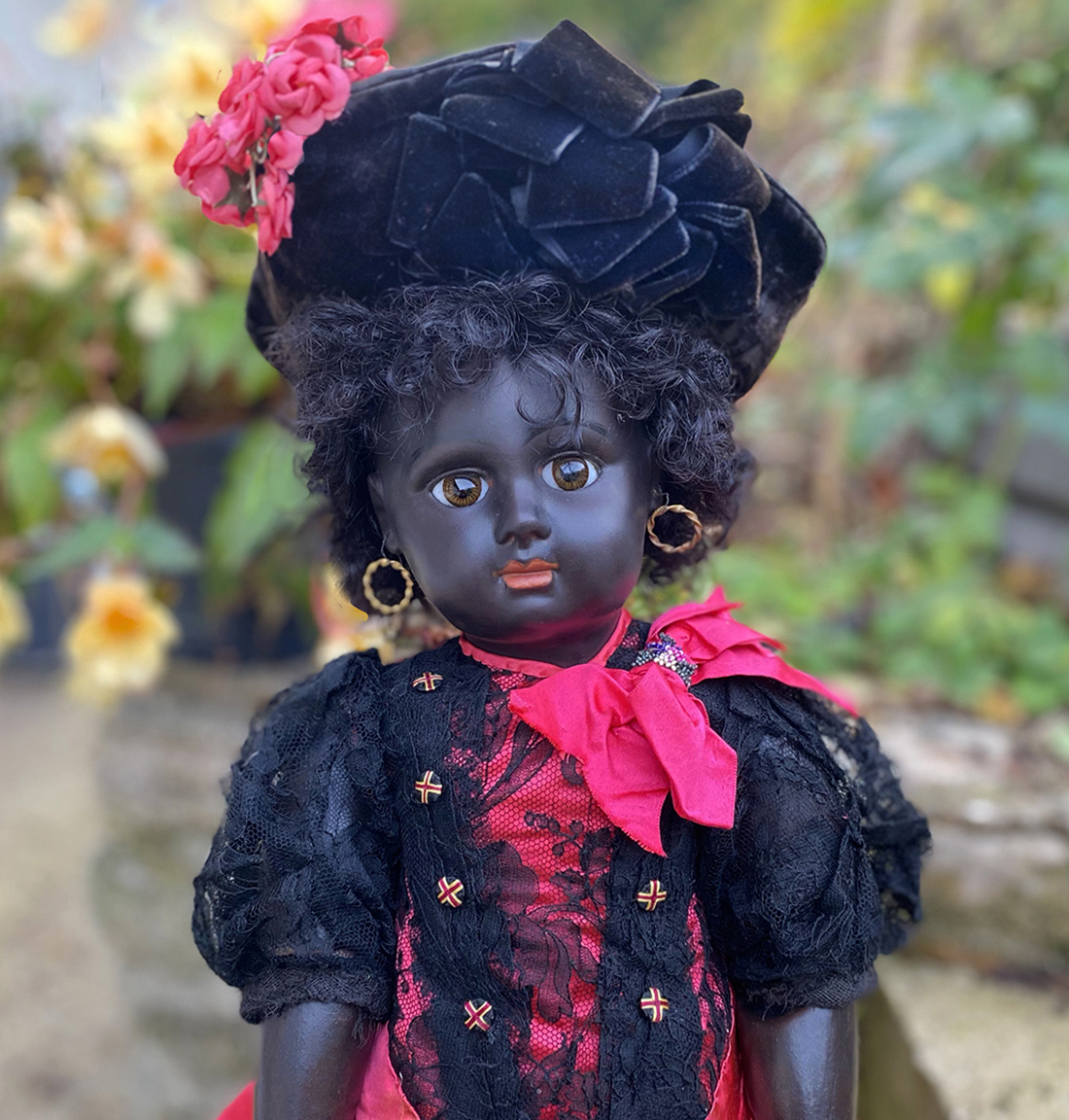 Black eden bebe doll