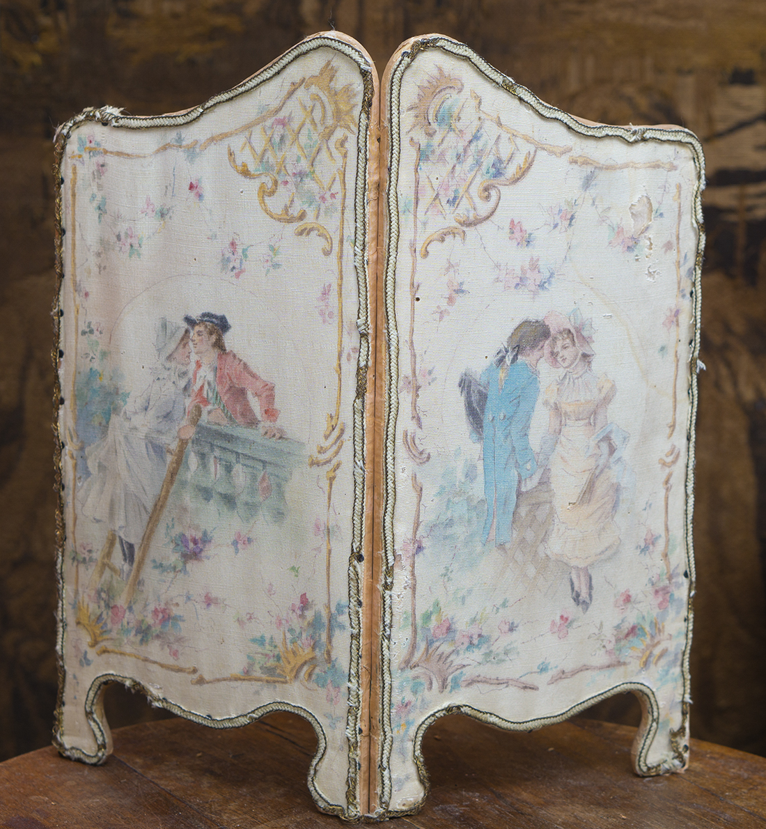 Antique French Screen