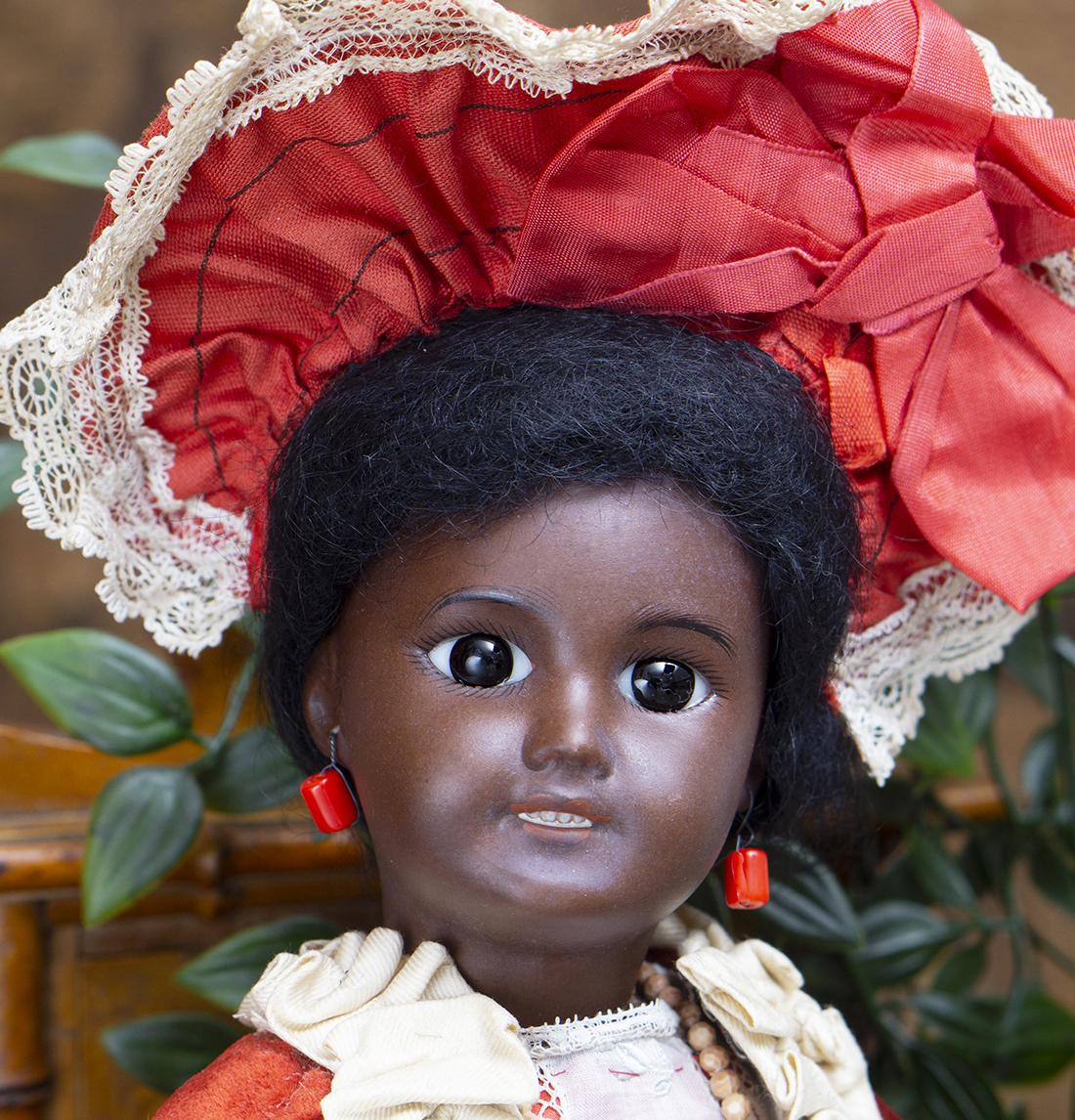 301 black doll
