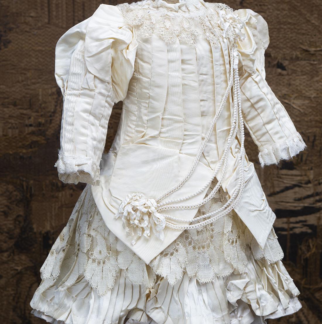 Antique Silk Dress
