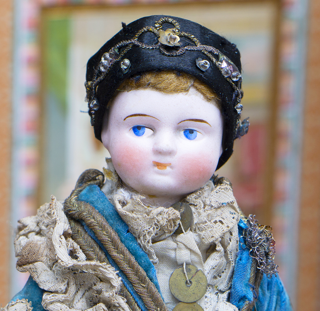German All Original doll