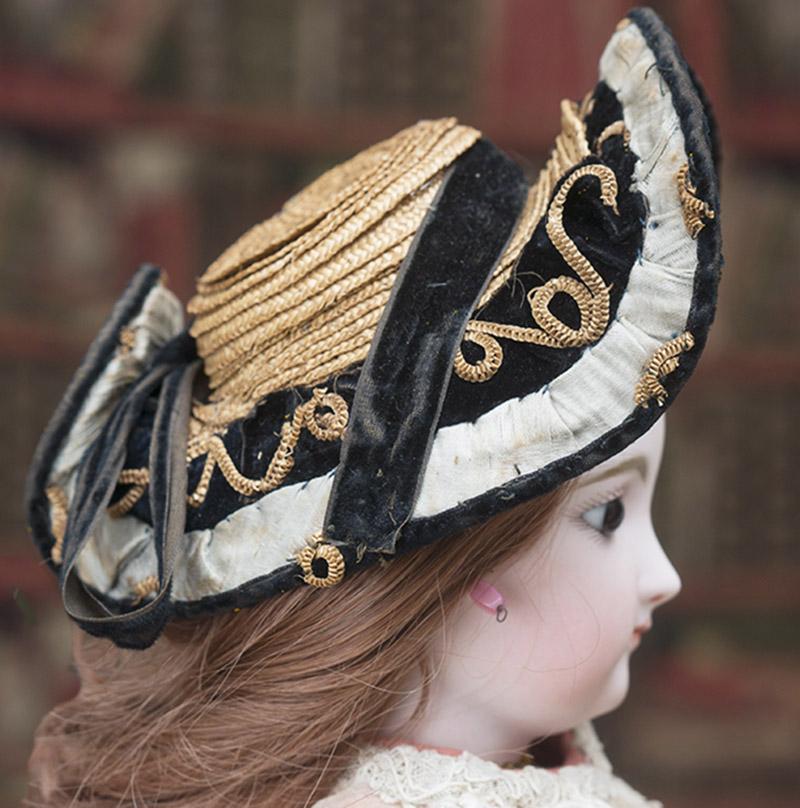 Rare Bonnet A Deux Bonjours, c.1860