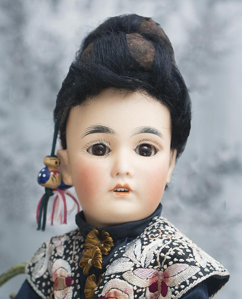 30cм Маленькая Куколка-азиатка Simon&Halbig, модель 164