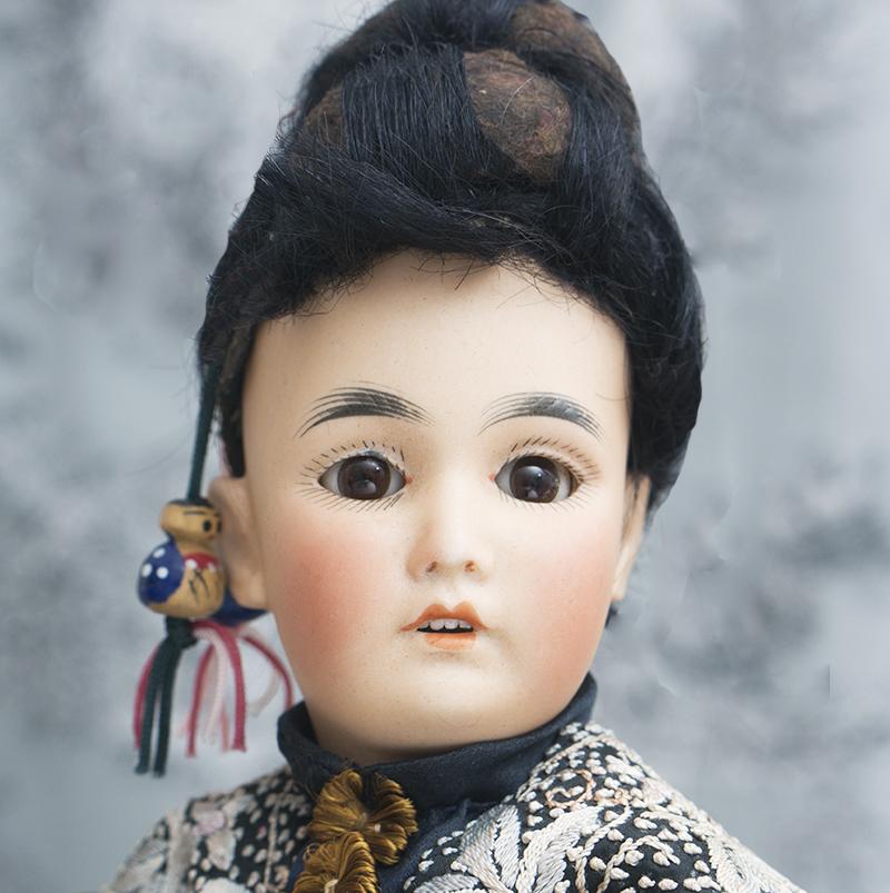 Simon and Halbig Oriental doll 164