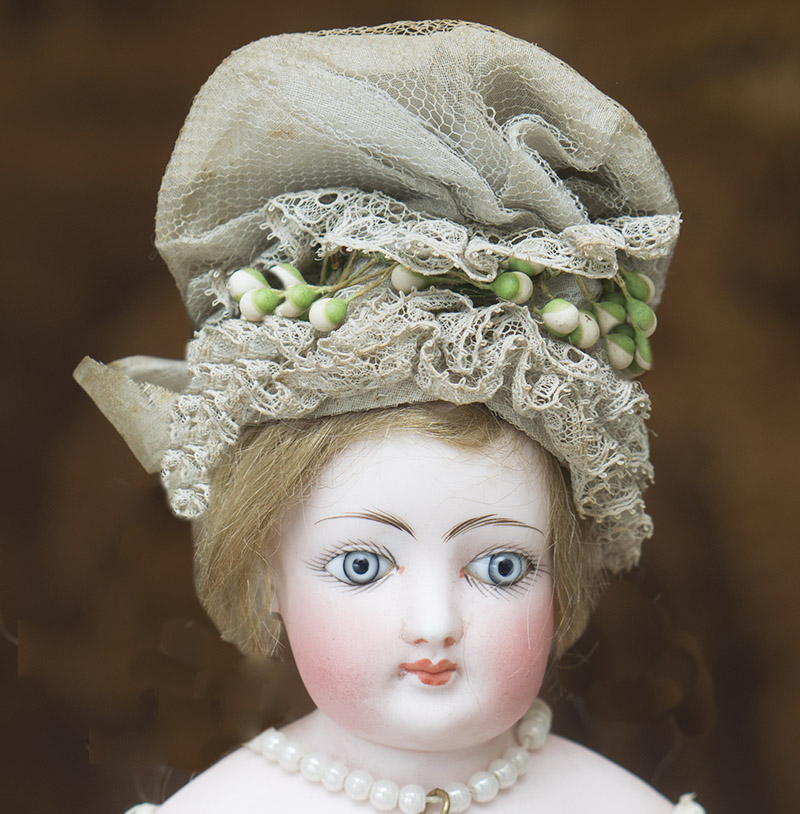 Antique French Original Hat Bonnet for fashion doll