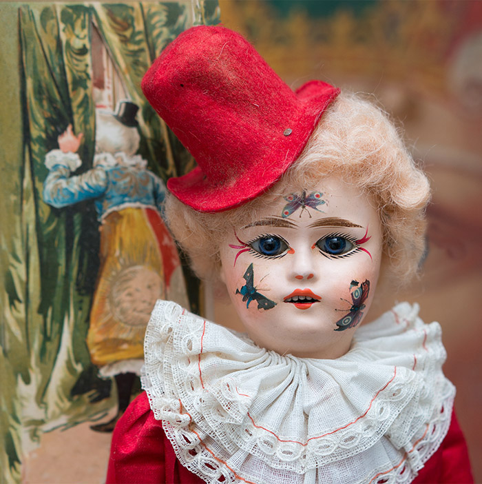 Antique French Eden Clown