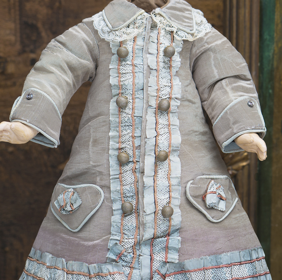 Antique Dress for 17in doll