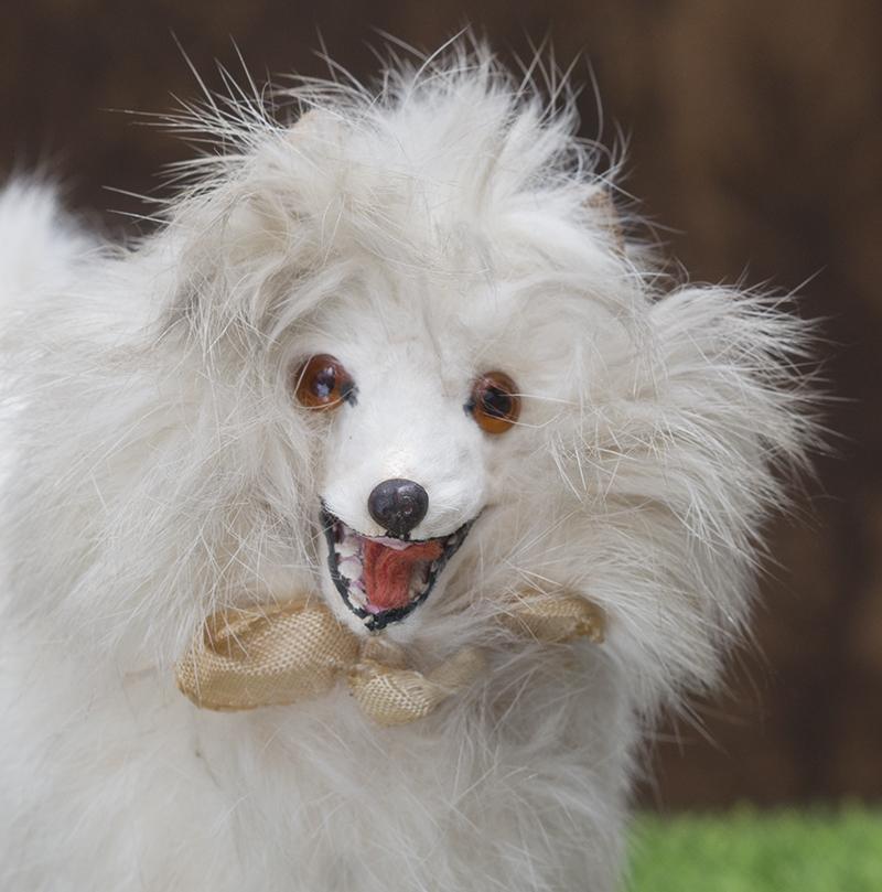 Antique German Salon Dog