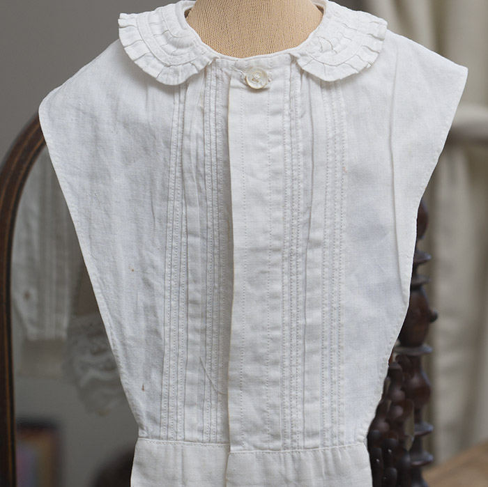 Antique Original Huret false shirt front
