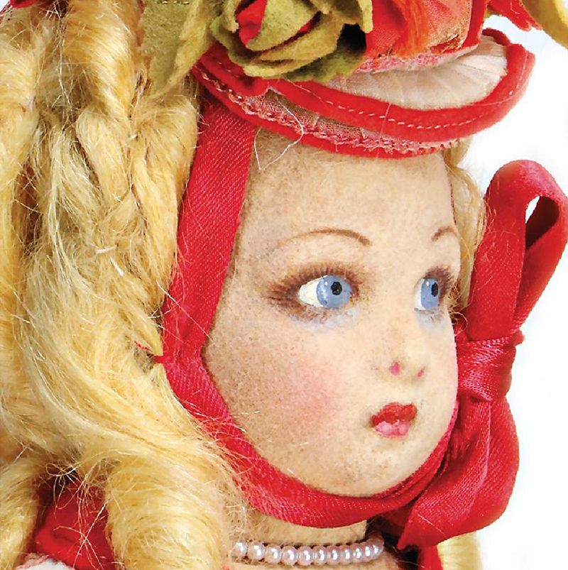 Antique All original doll by Lenci