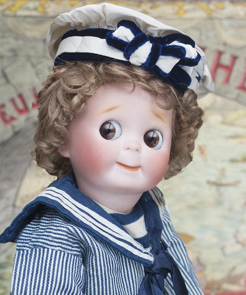32 см Характерная Кукла  Googly 121, KESTNER