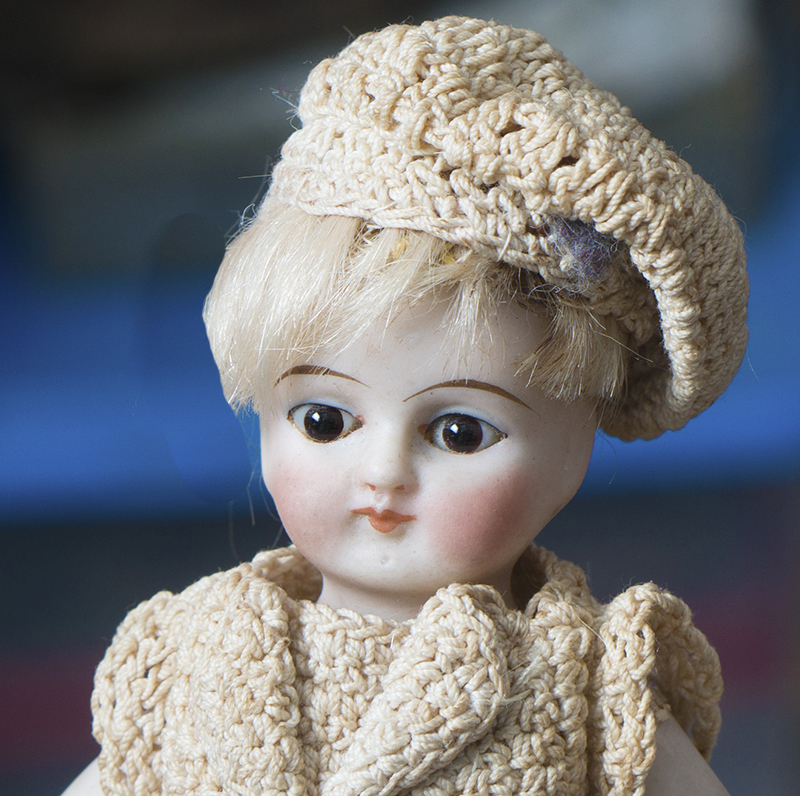 All Bisque Mignonette doll