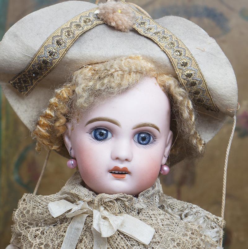 61см Кукла Jumeau  Полишинель