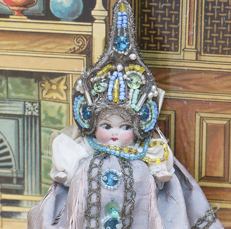 Rare Kewpie doll in Russian costume