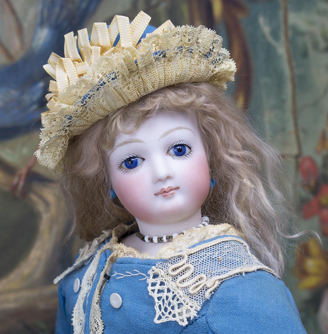 43см Модня кукла Jumeau