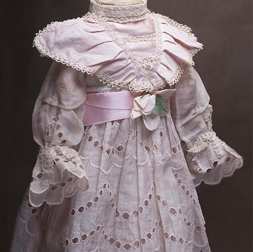 Antique Dress and Chemise for doll