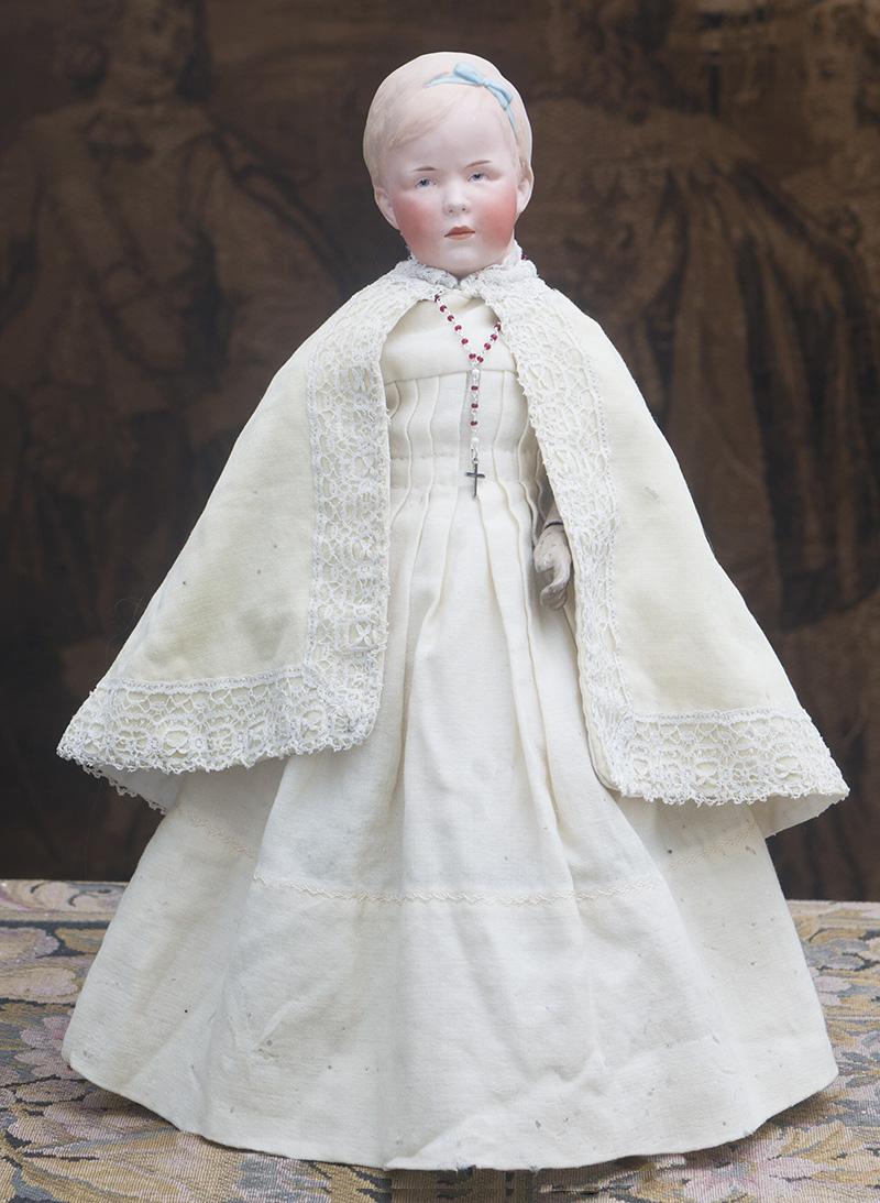 Редкая портретная кукла Heubach