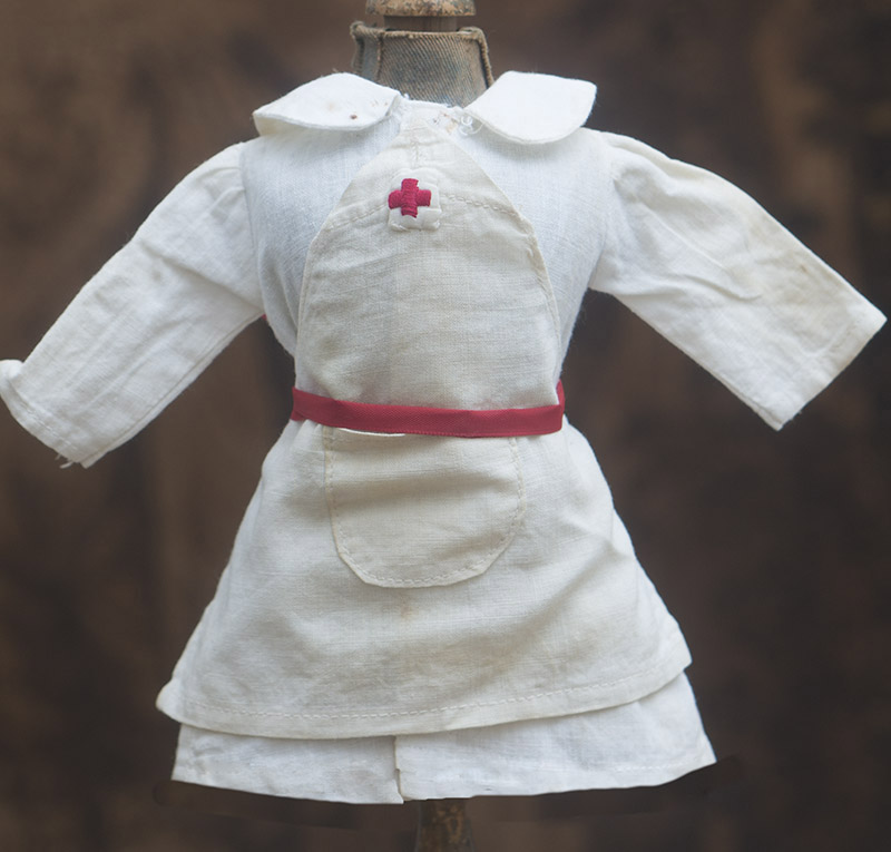 Antique dress for nun doll