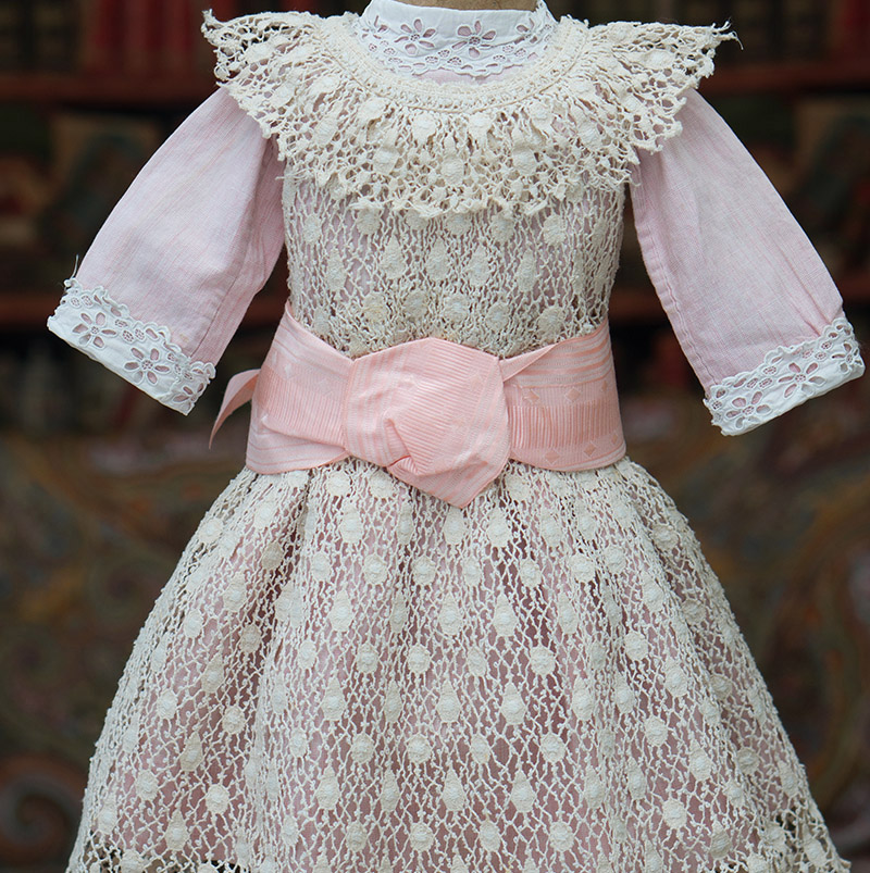 Antique Original Dress for doll 22-23