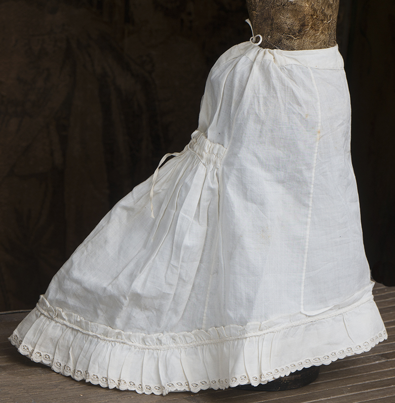 Antique fashion doll skirt