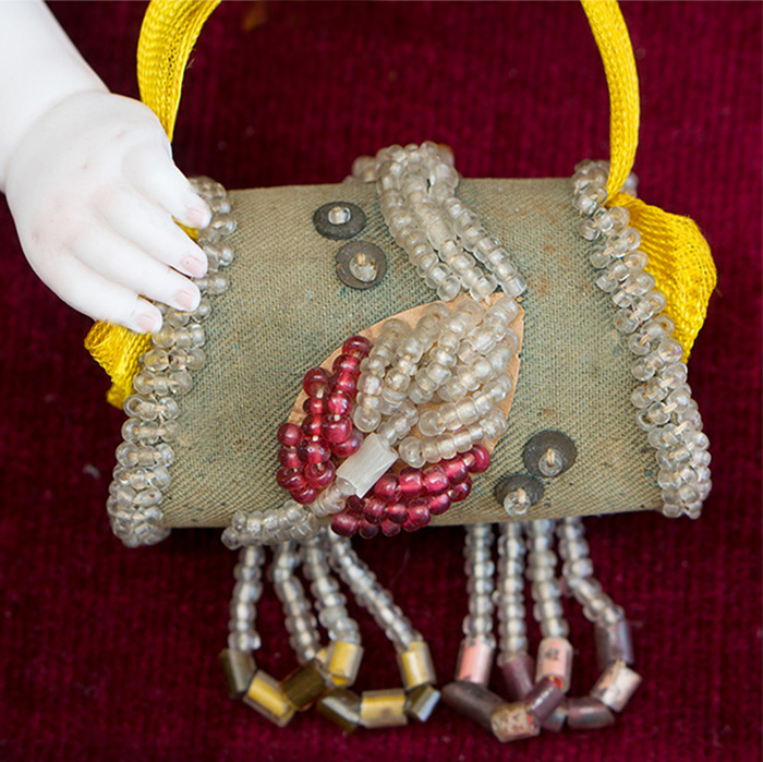 Antique purse for doll