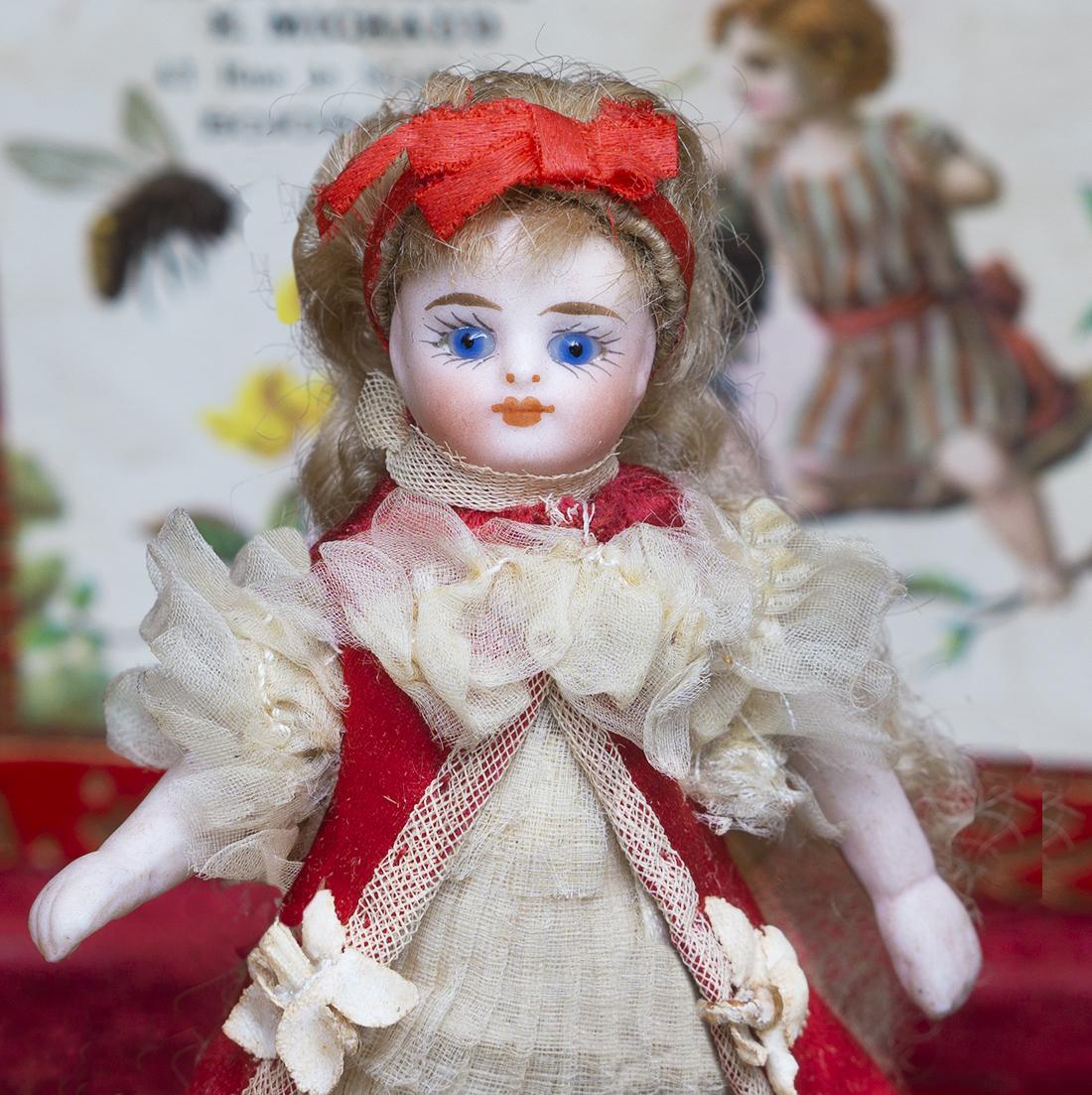 Antique Mignonette doll