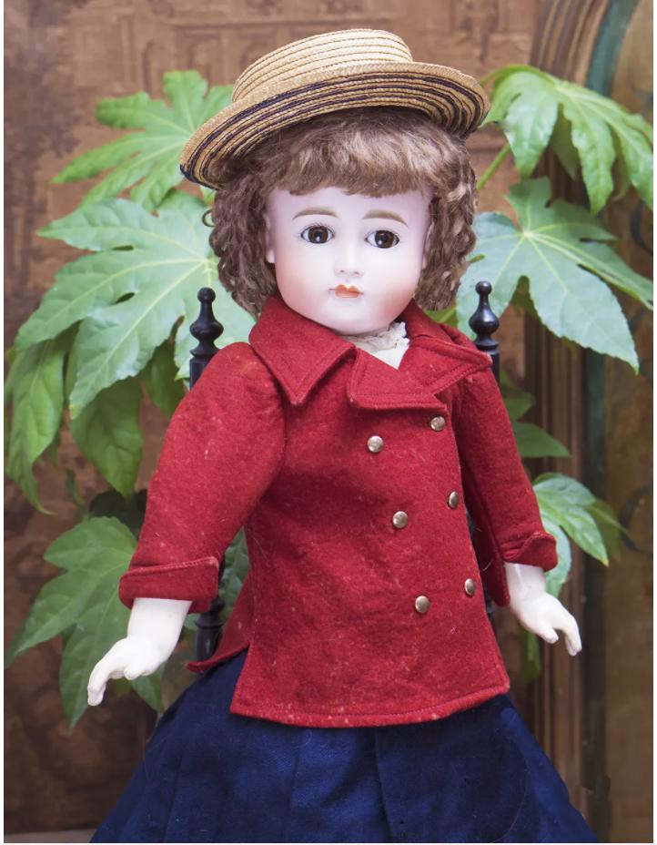 55 см кукла Кестнер  в оригинальном костюме