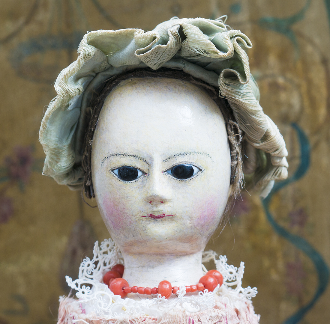 18th Century Wooden English doll