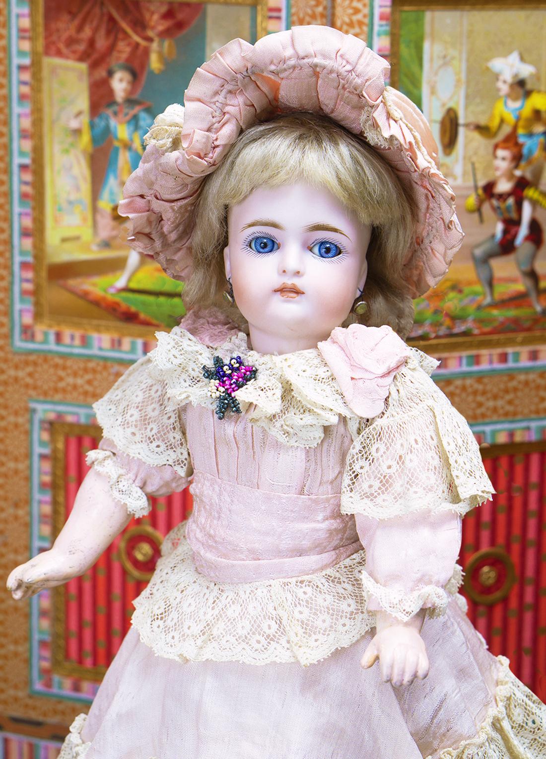 31cм  Редкая Немецкая Куколка фирмы Kammer&Reinhardt, модель 192