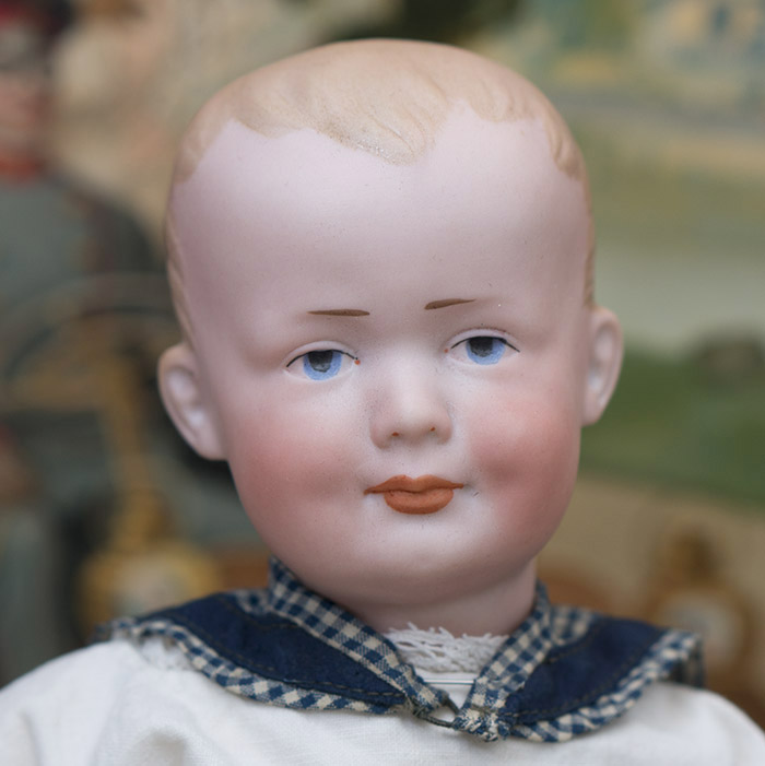 German Character Doll 500, by Marseille