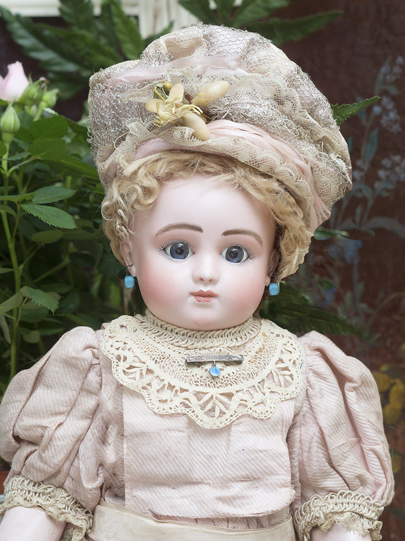 46 cм Редкая кукла Bebe Steiner Модель Bourgoin, 1882г.