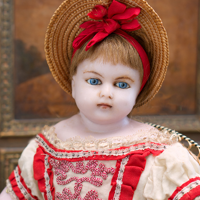 Early English Montanari doll