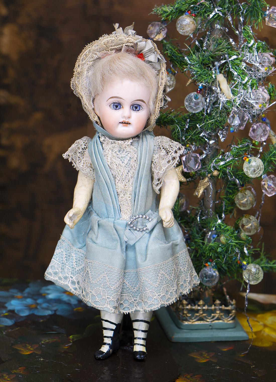 20см Немецкая Куколка Mignonette в оригинальной одежде