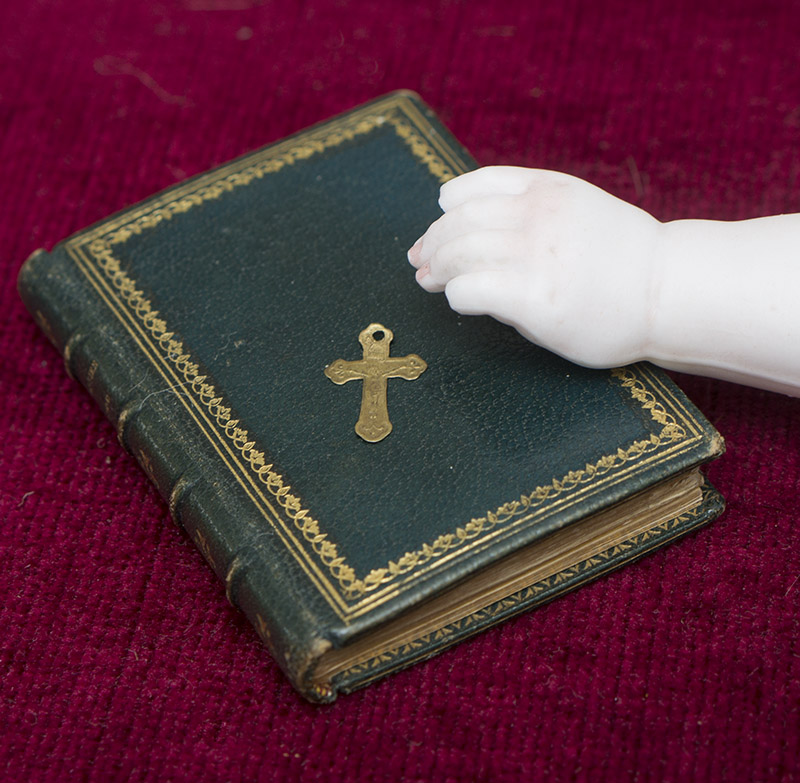 Antique Miniature Prayer Book for French Fashion