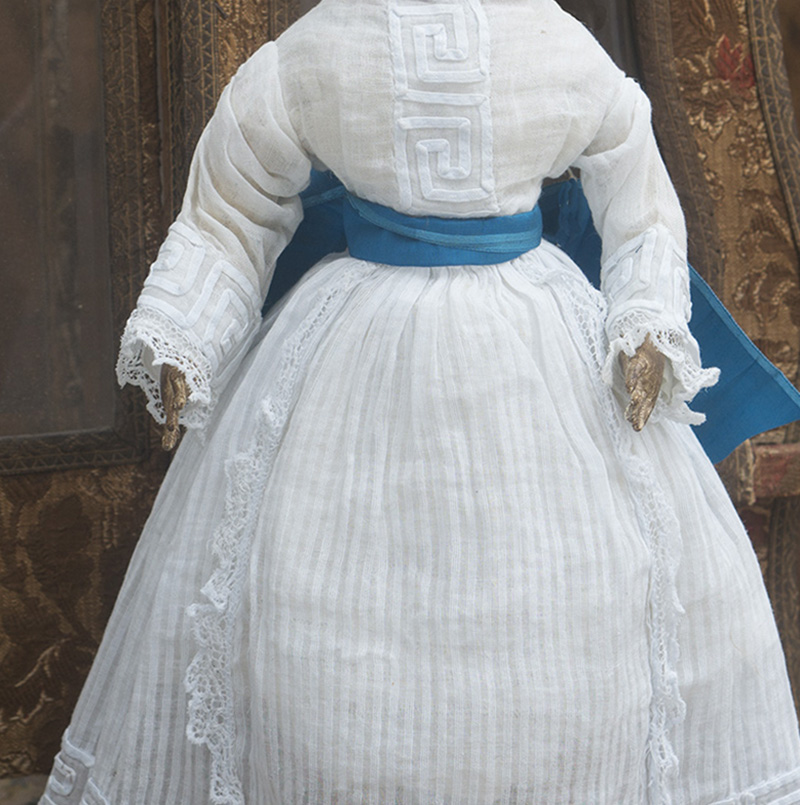 Antique Original Fashion doll dress