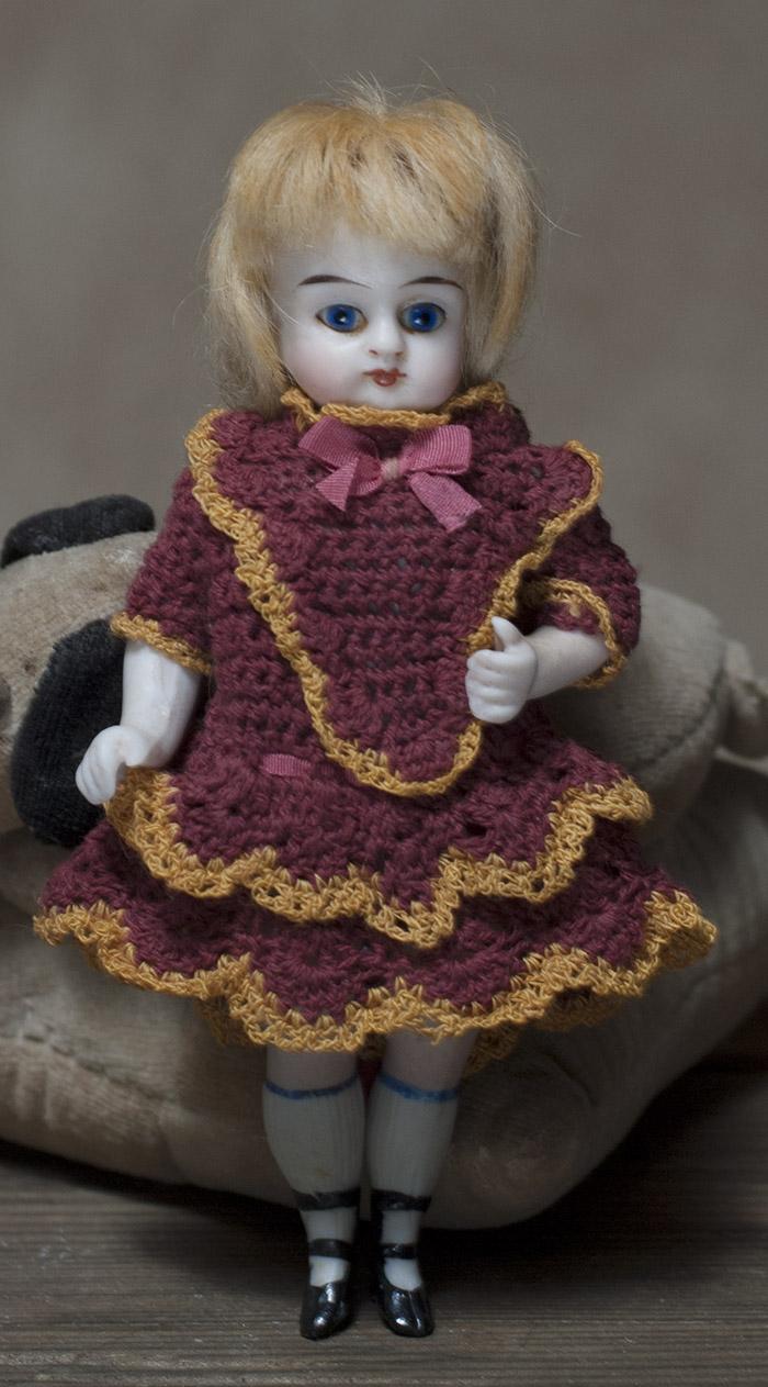 Куколка-Mignonette -1880г, 13 cm