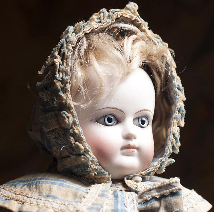Очень редкая кукла SCHMITT -  1870-е годы, 38 см