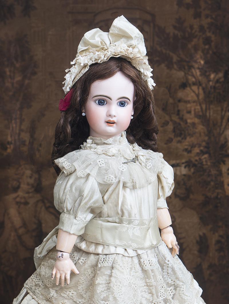 63 см Кукла Жюмо с открытым ртом