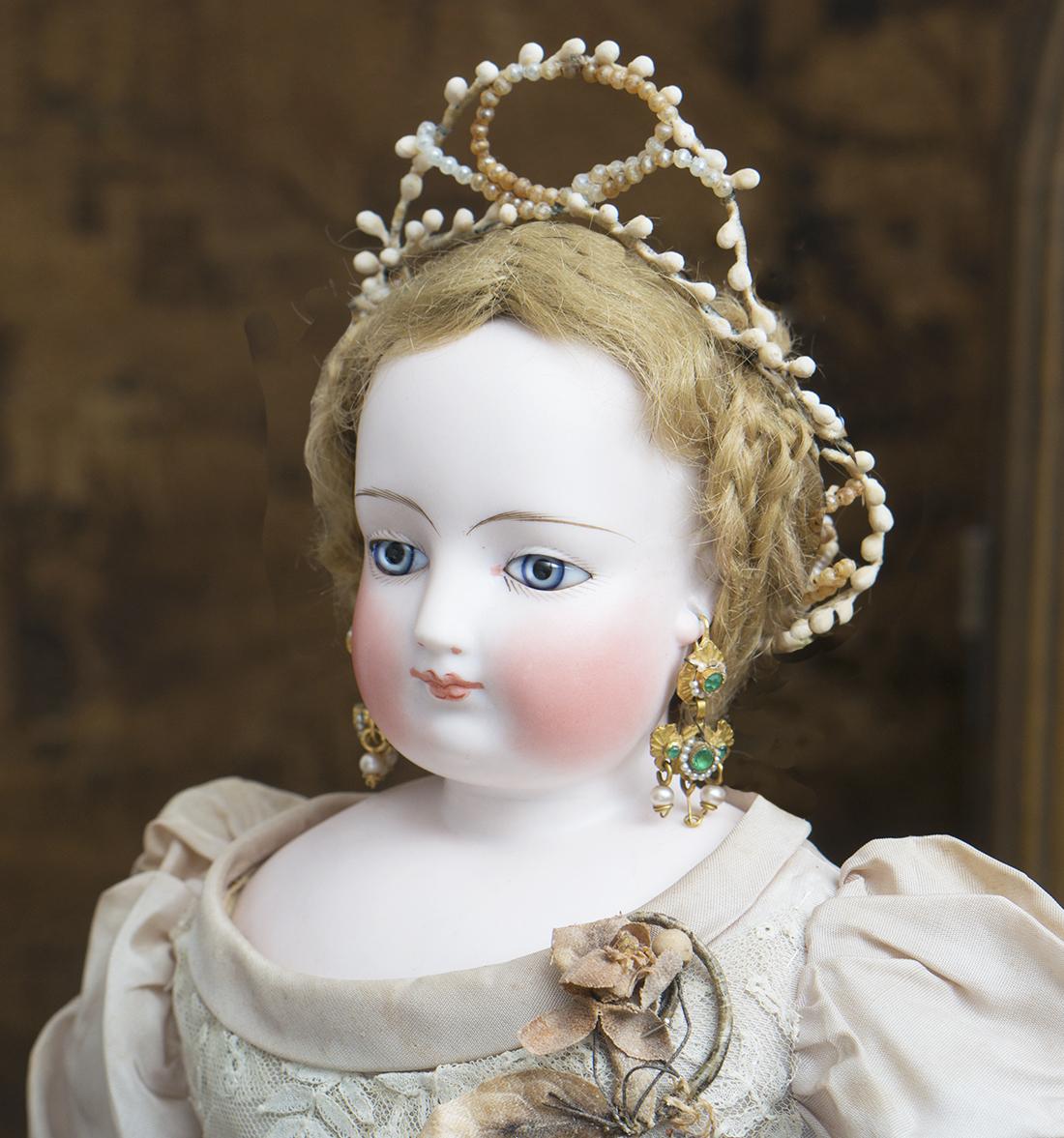 Antique fashion Gaultier doll