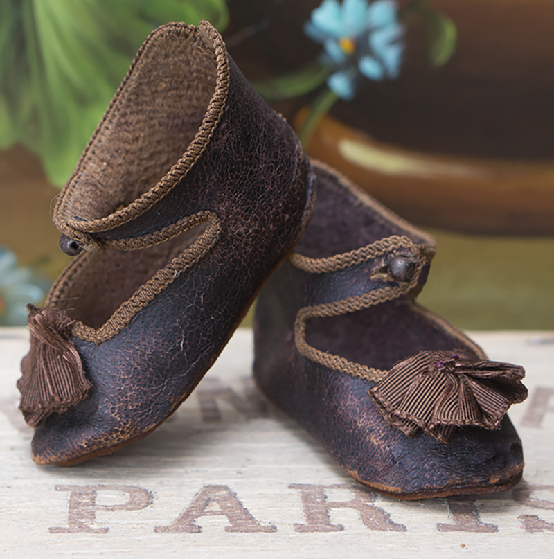 Antique French shoes