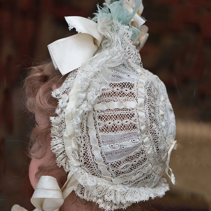 Antique Original Lace bonnet