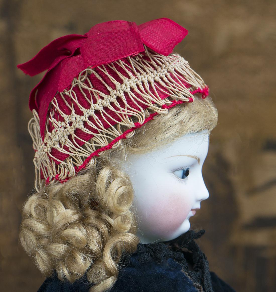 Antique fashion bonnet