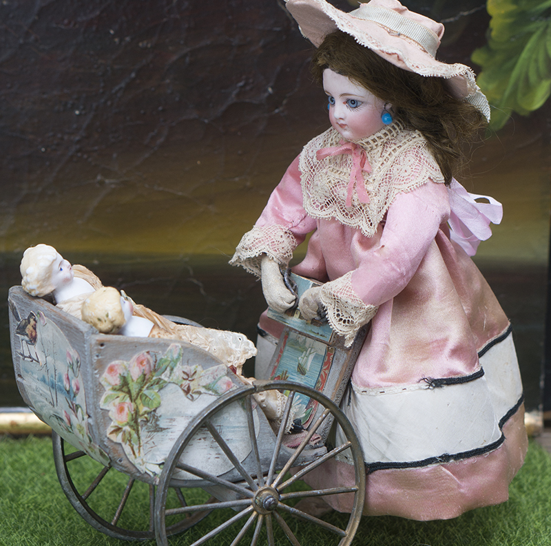 Antique French mechanical Toy