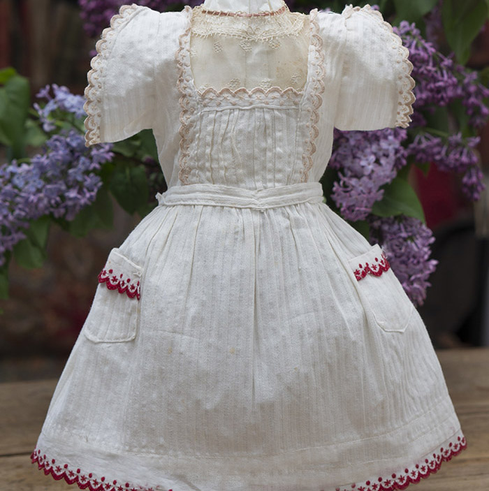 Antique Pinafore dress
